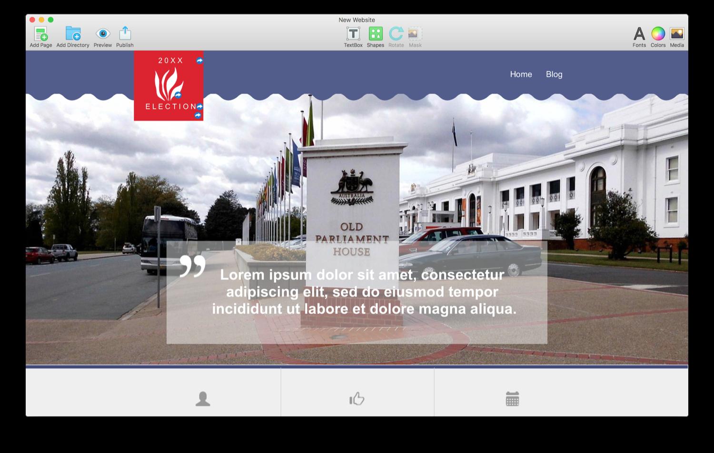 Everweb Features Mac Website Builder Wysiwyg Creator Retro Elegant Leather Back Case Cover Lg Magna Presentation Mode