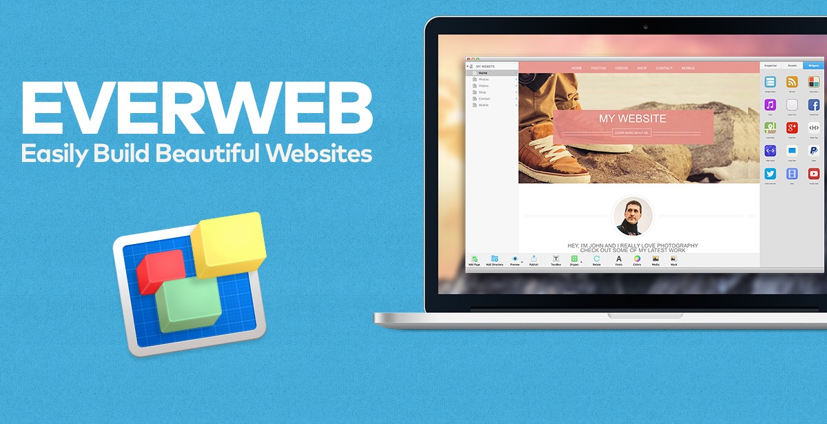 Mac Website Builder - EverWeb - Everything You Need to Build Your